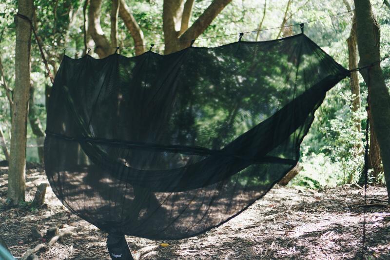 ハンモック用の蚊帳のフック