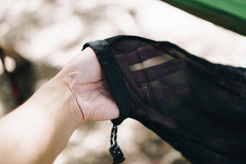 ハンモック用の蚊帳の紐