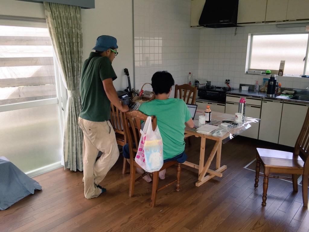 稲作ワークショップレポート2回目。除草作業&ハタラボ島