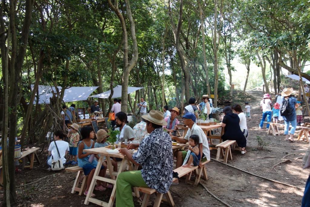 島の食卓イートスペース
