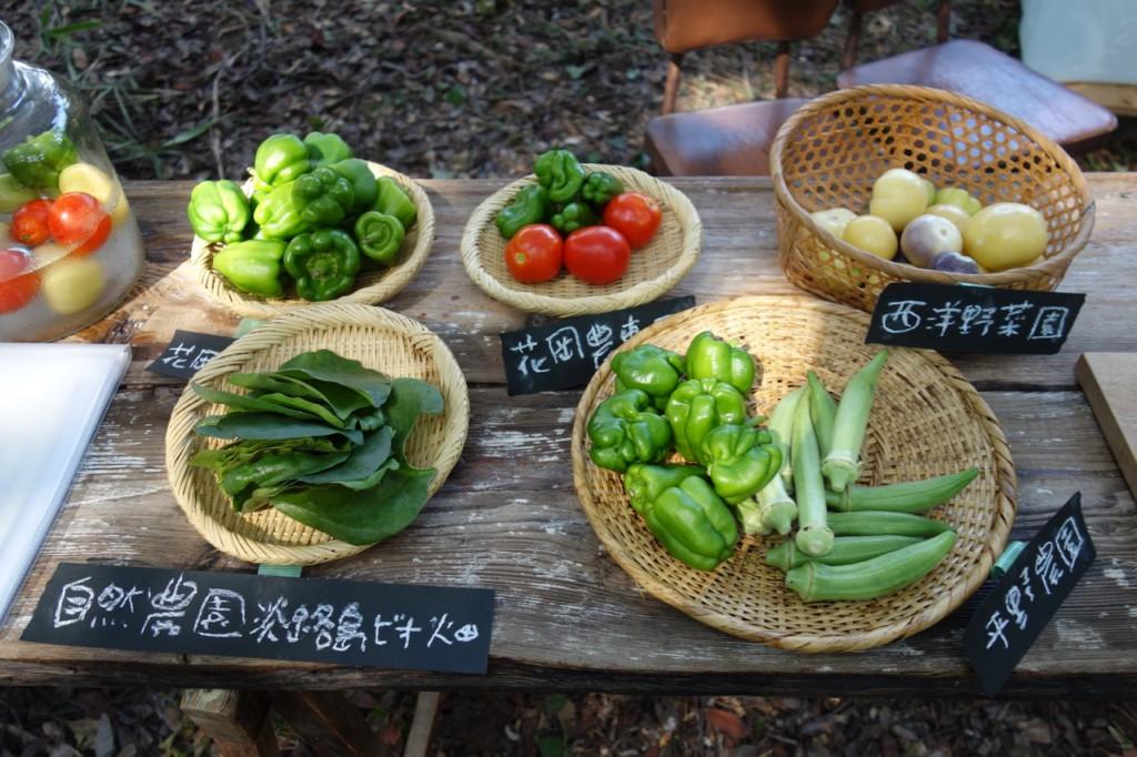 淡路島のオーガニック農家のお野菜