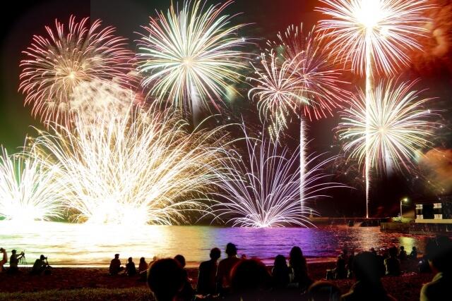 淡路島の花火イベント!淡路島まつり花火大会『第70回』会場からのアクセスと空いている駐車場の見つけ方