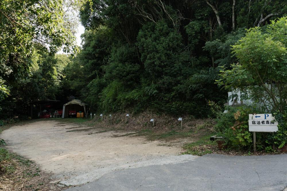 淡路島マンモス HOTEL&COTTAGEの駐車場