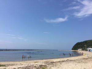 五色県民サンビーチは格安でキャンプができる海水浴場