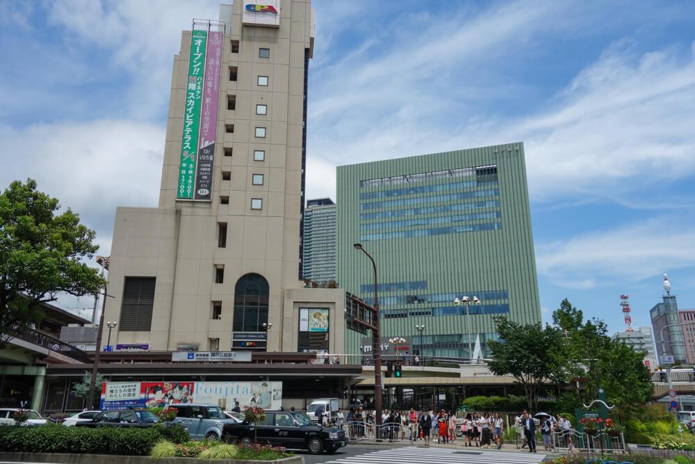 Sannomiya bus station