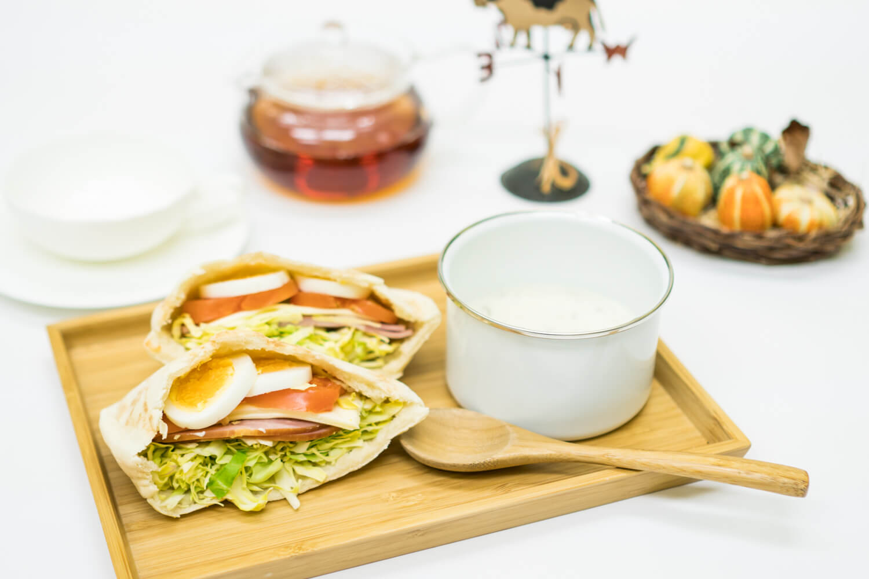 淡路島マンモスの朝食をご案内