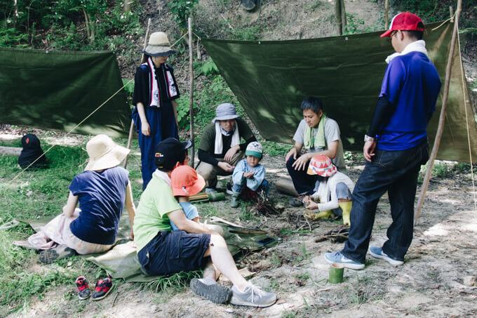 淡路島マンモスでブッシュクラフト!遊んで学んで楽しむアウトドア・サバイバル体験