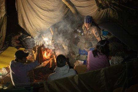ブッシュクラフトキャンプ!まだまだ暖かい11月の野営 in 淡路島