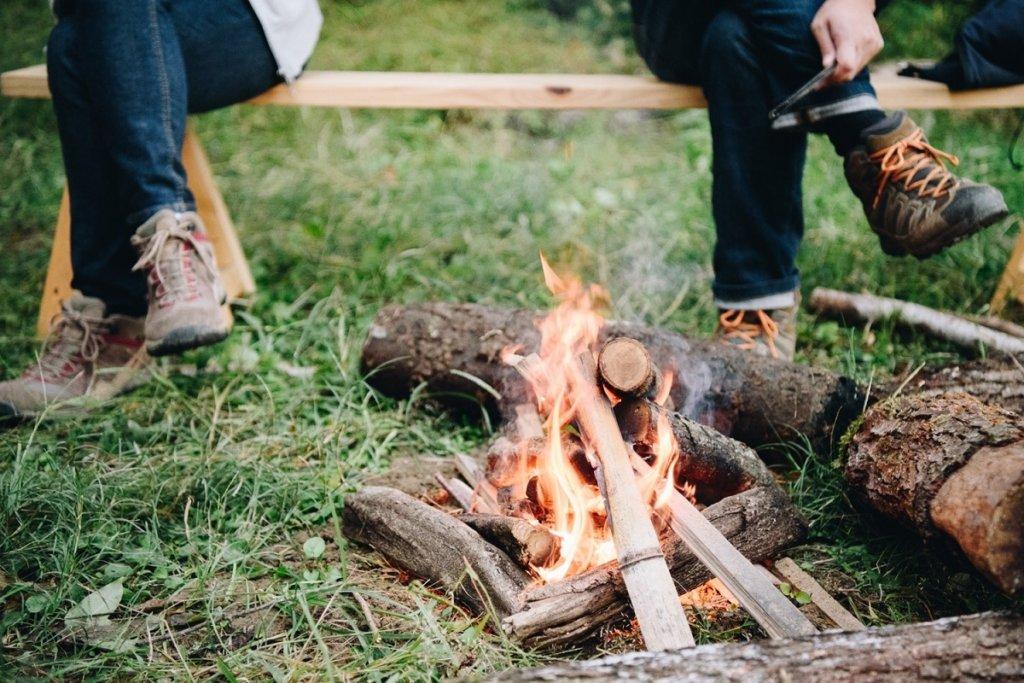 焚き火入門講座